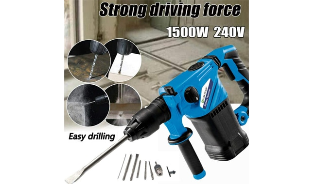 Bowose SDS Rotary Hammer Drill