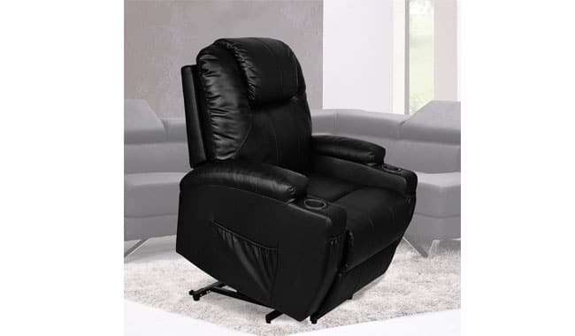 Unionline Electric Raise Massage Recliner Heated Vibrating Chair