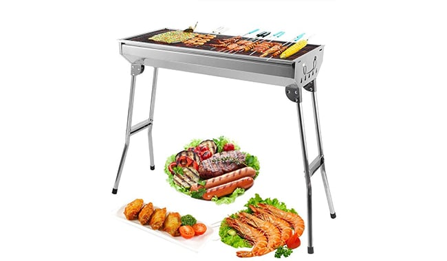 Zogin Stainless Steel Charcoal BBQ Grill