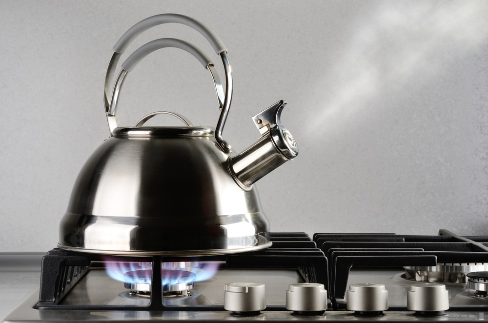 who invented the kettle